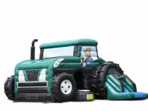 tractor springkussen